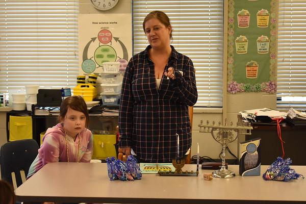 First Grade Hanukkah Presentation
