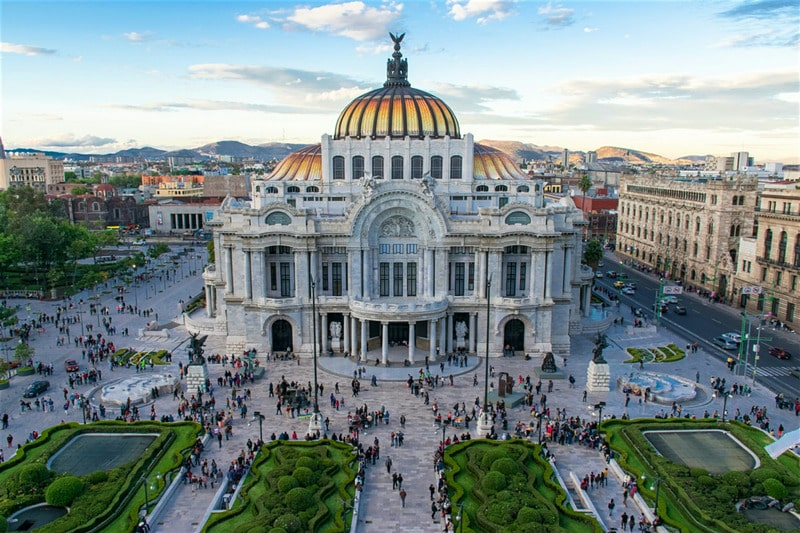 mexico city bella artes - start of your mexico city itinerary