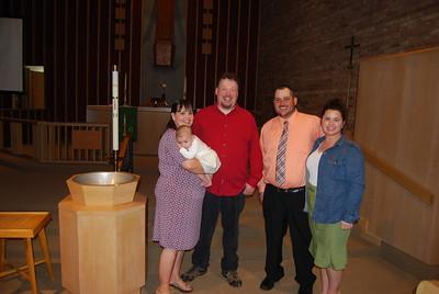 Kenzi's Baptism