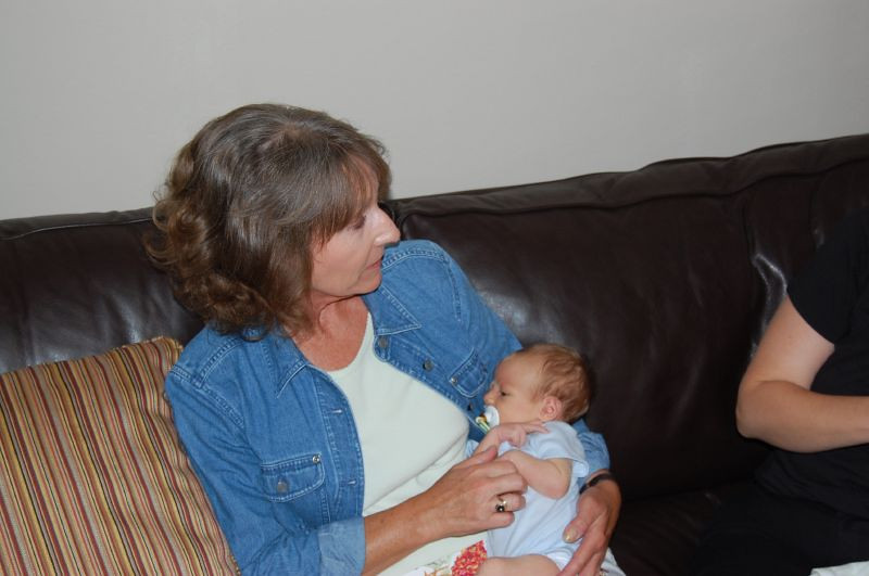 Elliot and Great Aunt Sally