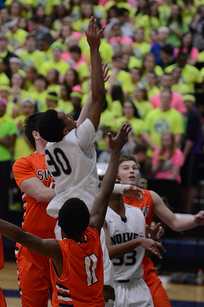 Oswego East Boys Varsity Basketball Vs Oswego 2014