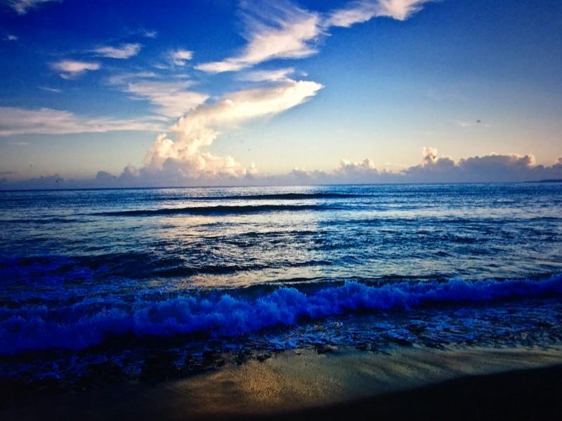 Sunrise over Water_Sandy Beach, Rincon Puerto Rico.jpg