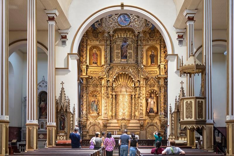 Golden Altar, Iglesia de San José