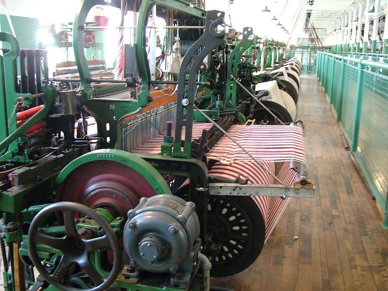 Machines - Boott Cotton Mills - Lowell, MA