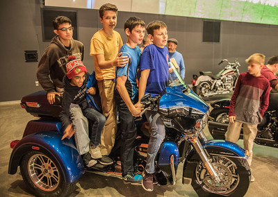 8th Grade Trip to Harley-Davidson Museum
