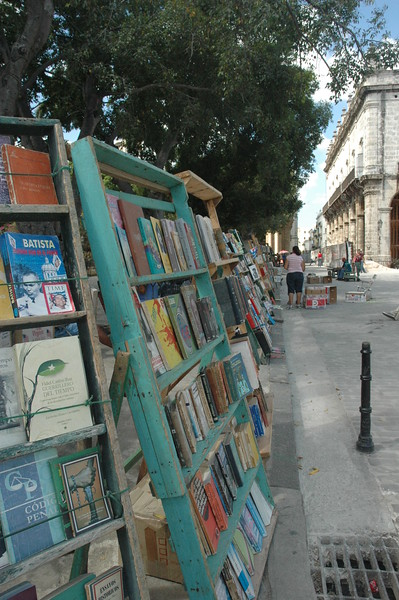 Bookstalls in Plaza de Armas - Leslie Rowley