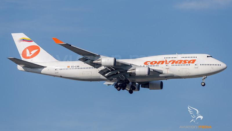 Conviasa / Boeing B747-466 / EC-LNA