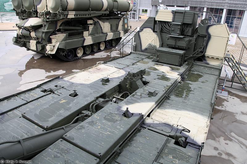 Пусковая установка 5П85СМ ЗРC С-300ПМ (5P85SM TEL for S-300PM missile system)