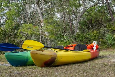St. Sebastian River Kayaking