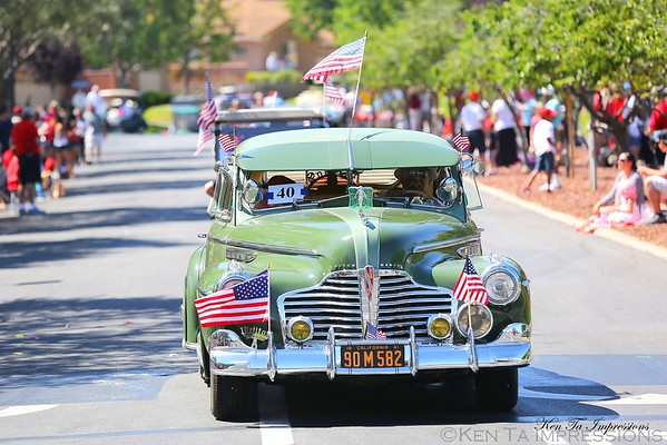 4th of July Parade at the Villages