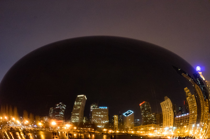 Wintery Evening Bean - February 7, 2015