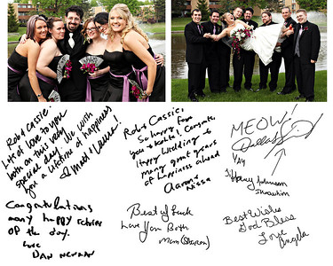Cassie & Robert Wedding Reception Album