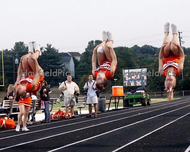 Cheerleaders Yorktown 9/24/10