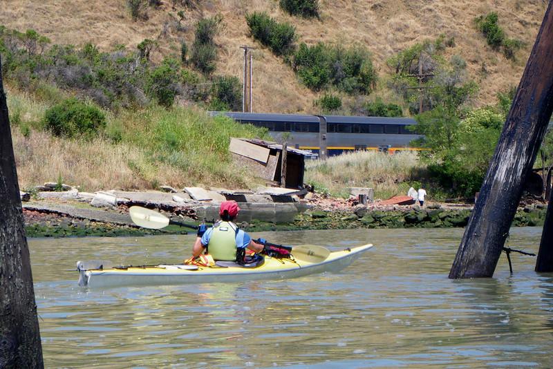 We had timber piers, trains, brickyard beaches, and kayaks.