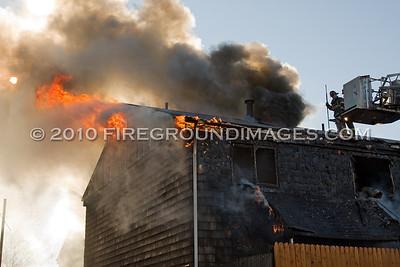 Adams St. Fire (Bridgeport, CT) 11/28/10