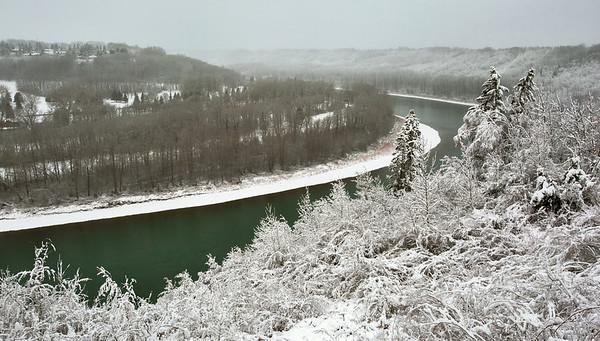 Edmonton's First Fall Snow 2013