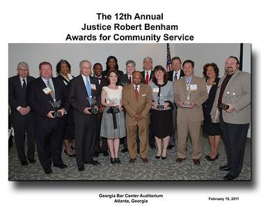 Justice Robert Benham Awards
