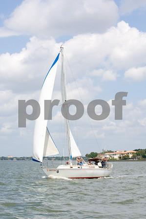 """""""Spainish Moon""""- Sail # 2969, Bow #6"""
