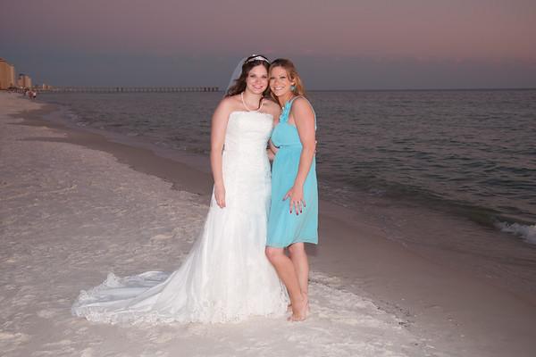 Monica Bain Wedding