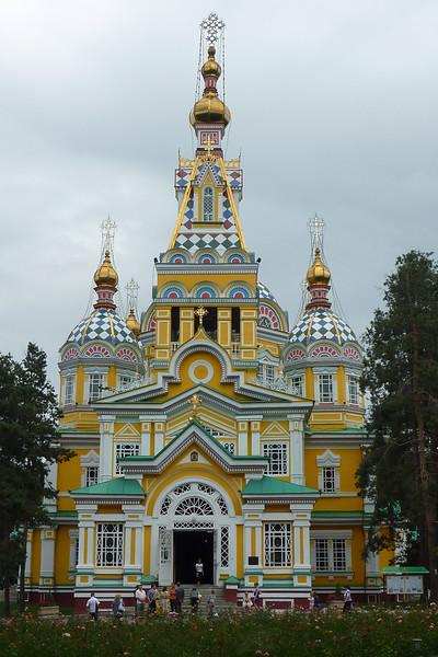 Spacer po Almatach - Katedra Zenkov