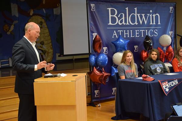 Spring 2019 College Athlete Signing Ceremony