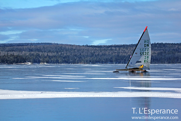 Ice Boating Nova Scotia