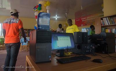 Rotaract: Otinibi Library Commisioning