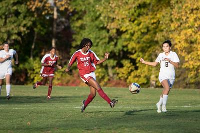 11/2/16: Girls' Thirds Soccer v Choate