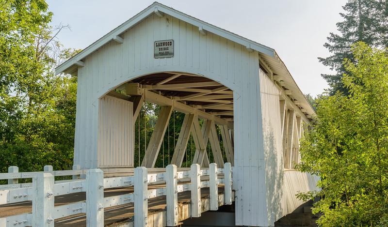 Hannah Covered Bridge, Oregon