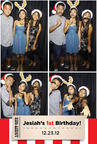 Jesiah's 1st Birthday (Stand Up Booth)