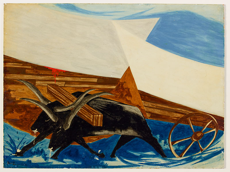 "Jacob Lawrence, ""Struggle No. 30,"" 1956"