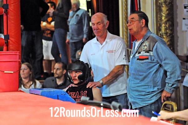Bout 1 Zi Stalnaker, Terminator BC, Green HS -vs- Joshua Taylor, MJ Zone Rec, Cleveland HS, 132 lbs Novice