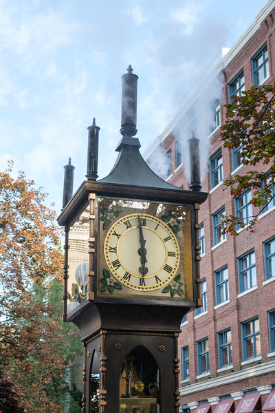 Gastown Vancouver Steam Clock