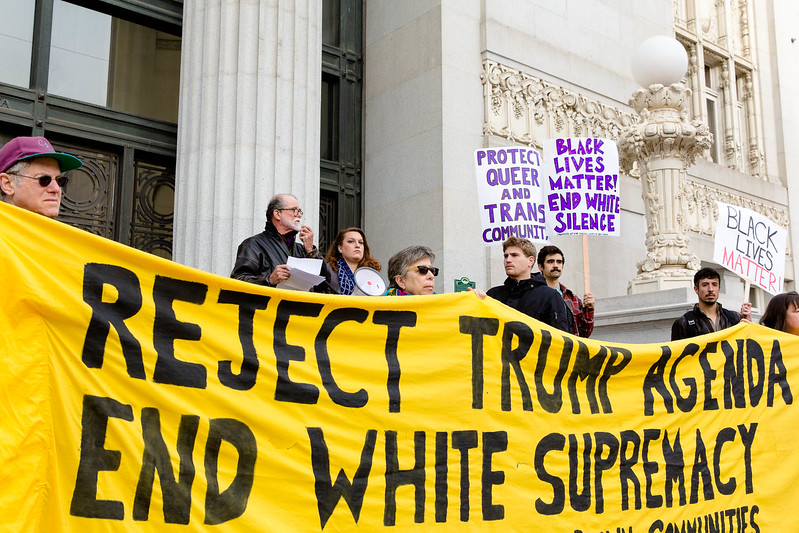 20170117 - T48A9406 -Reclaim MLK 120 Hours SURJ Expose Libby Schaff's Racism, Reject the Trump Agenda in Oakland - photographed by Sam Breach 2017 - 1080 short edge.jpg