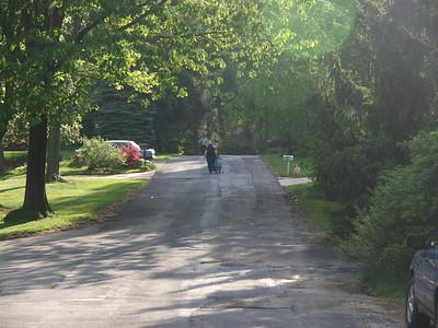 Evie's First Bike Ride