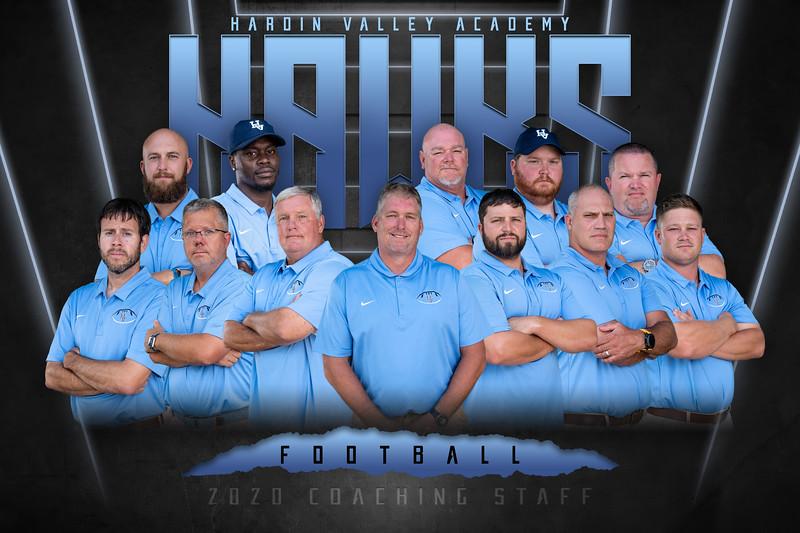 2020 HVA Football Coaches