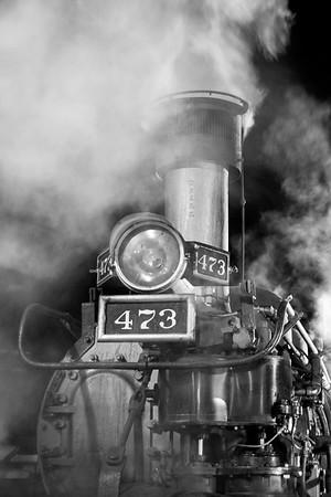 Dark Skies and Trains