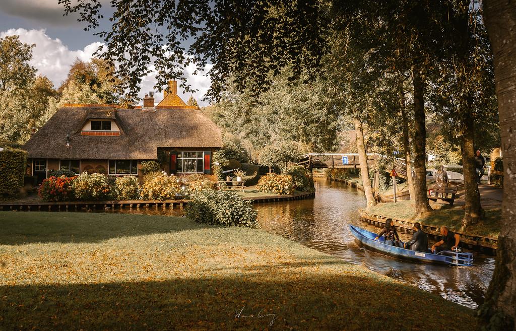 羊角村 Giethoorn 優美的水上村莊 by 張威廉 Wilhelm Chang