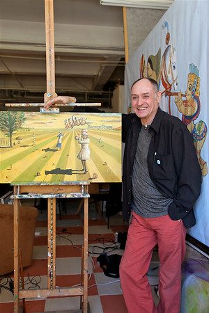 Artist Paul Whitehead