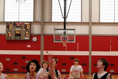 Middle School Boys Basketball 8B - 2008-2009 - 1/21/2009 Tri-County