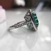 11.77ct Tourmaline Halo Ring by Leon Mege, AGL Cert 37