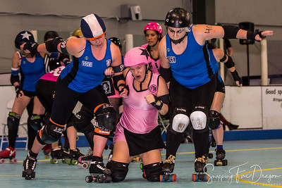 Tucson Roller Derby - Vice vs FTW 1-18