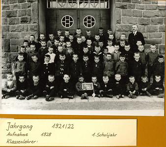 Jahrgangsfotos Jahrgang 1921 - 1930