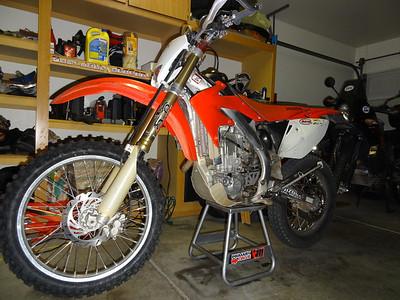 2008 Honda CRF 450X