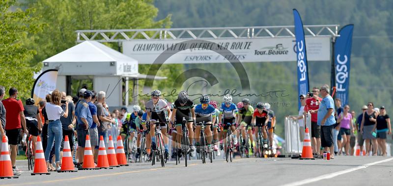 Championnats québécois sur route Espoir     Critérium