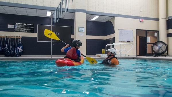Cincypaddlers Indoor Pool Practice