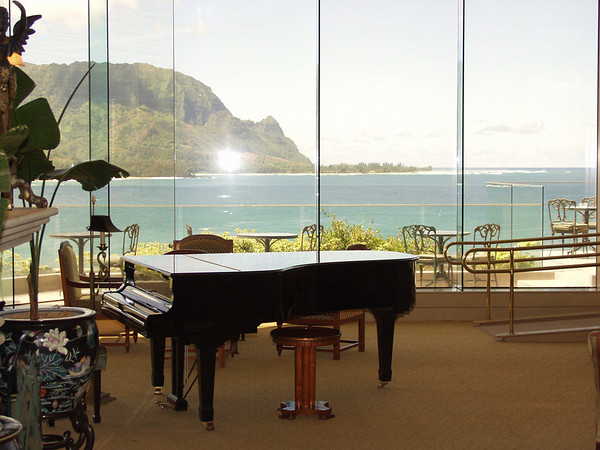 The Living Room or Lounge at Princeville Hotel