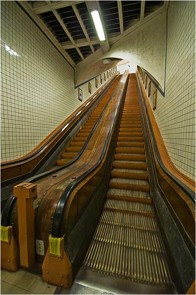 Escalator, Antwerp Schelde Foot tunnel