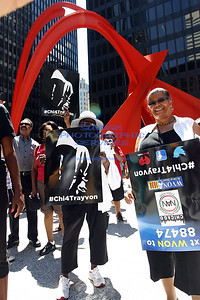 WVON Trayvon Martin 100 City Rally-Chicago 7-20-13