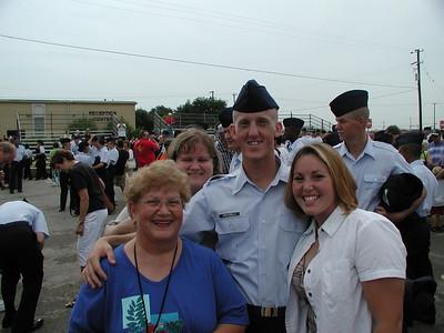 CHAELIE'S USAF BASIC TRNG. GRADUATION 2002